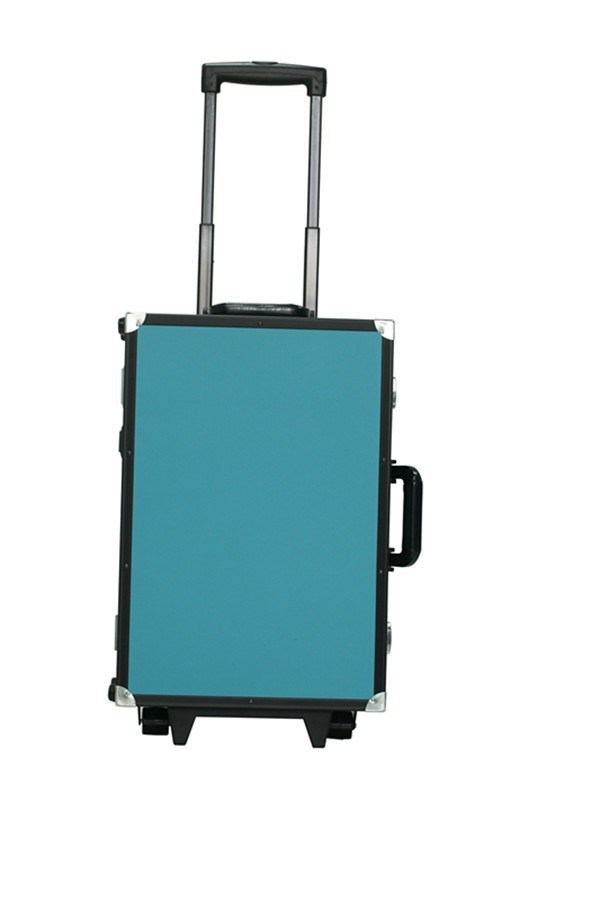 2017 Newest Professional Aluminum Permanent Makeup Traval Suitcase with Light