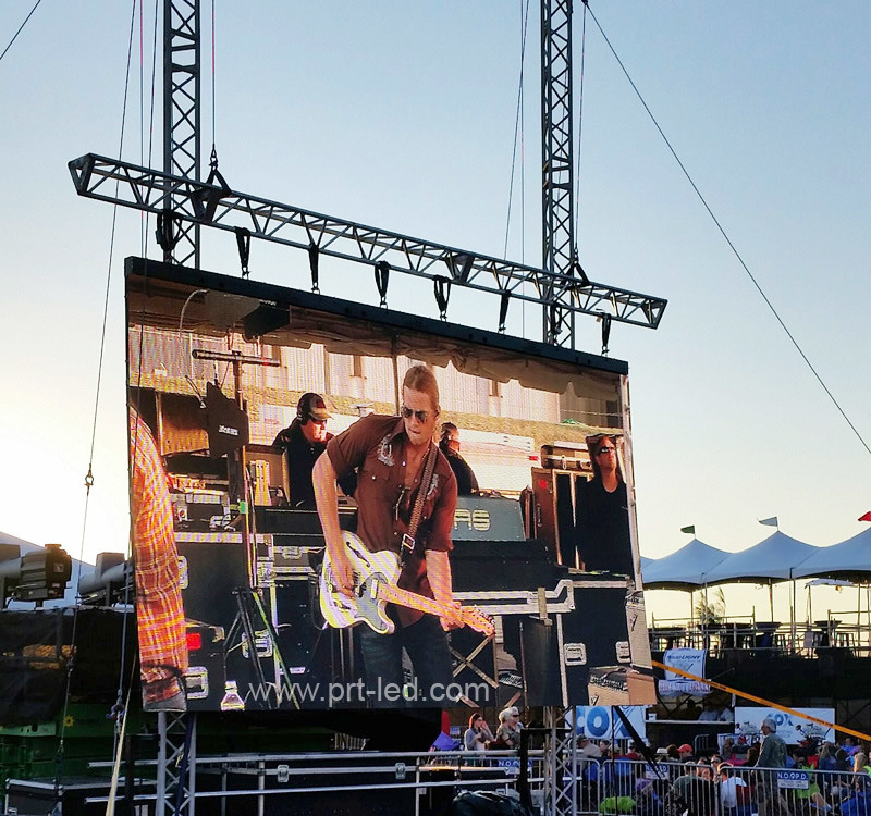 1/8 Scan High Resolution Outdoor P4 Rental Video Display LED Sign