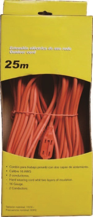 Extension Cord 127V for Mexico Market Item#Ggptwsa