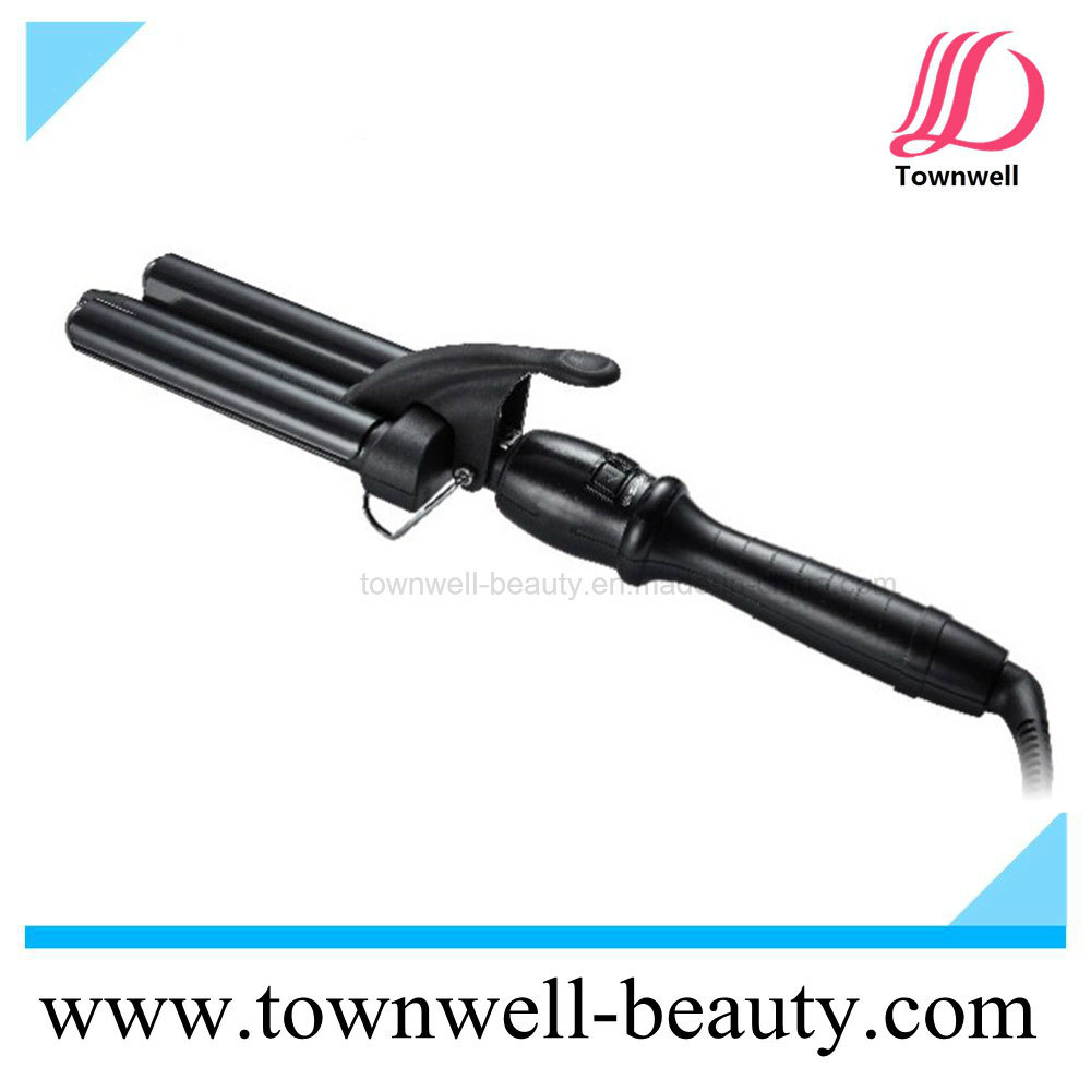 Professional 3 Barrel Hair Curling Iron for Dry and Wet Hair