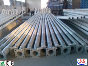 Competetive Price Steel Q235 Galvanized Street Lighting Poles