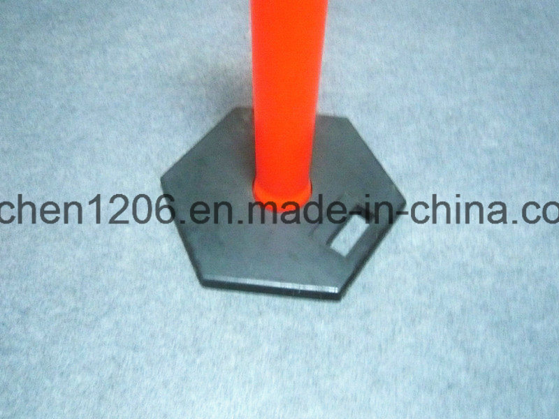 Convenient T-Top Handle Warning Post 1150mm with Good Quality