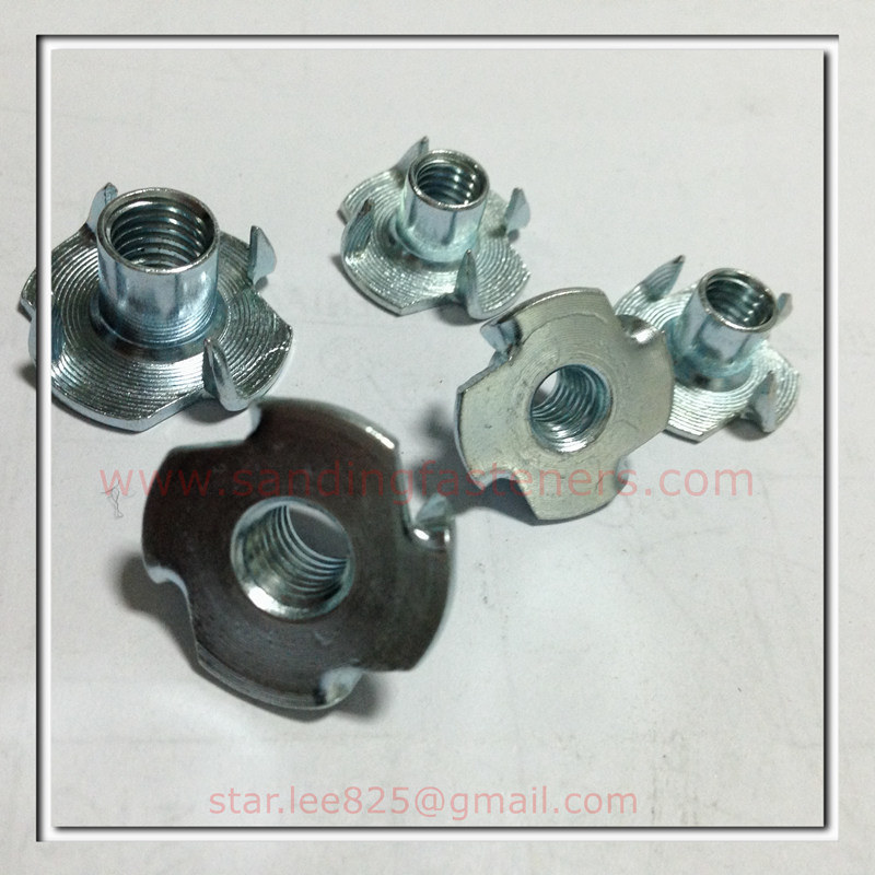 Carbon Steel Zinc Plated T Nut