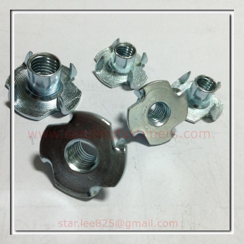 Carbon Steel Zinc Plated T Nut