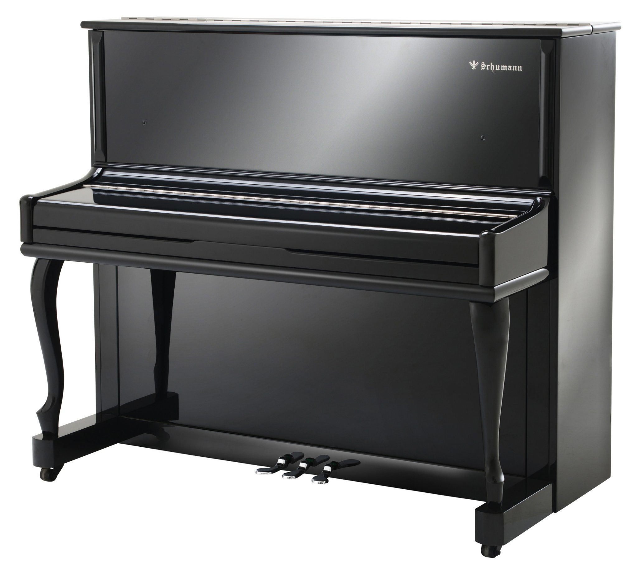 Schumann (KM1) Black 120 Upright Piano Musical Instruments