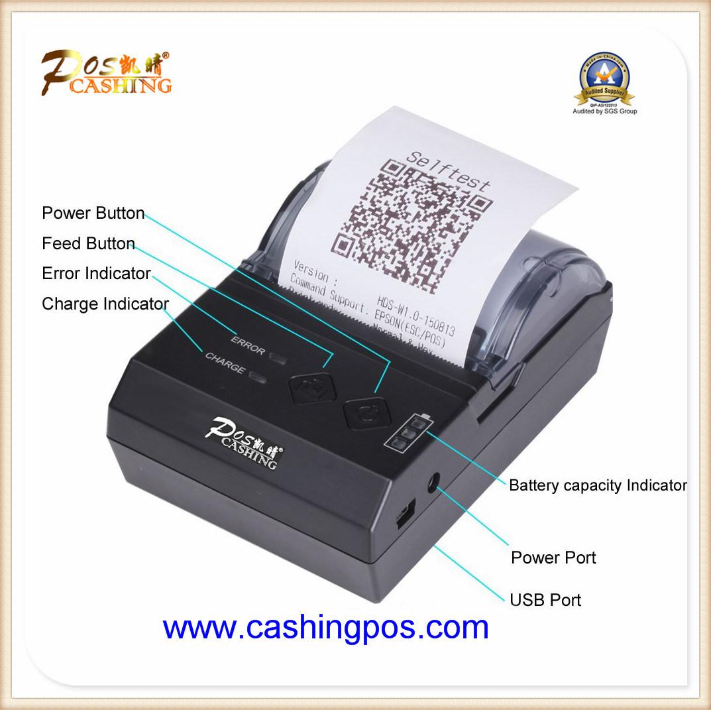 Qtp-E200 Portable Thermal Receipt Printer for POS Cash Register Cashier