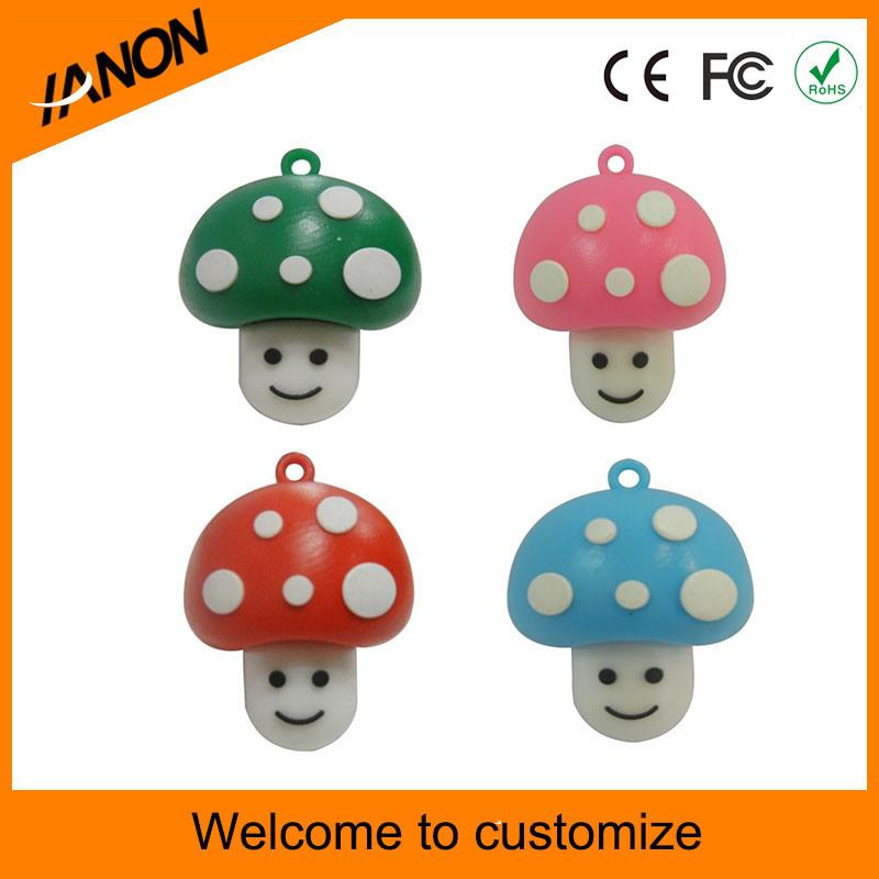 Mushroom Shape USB Flash Drive for Your Design