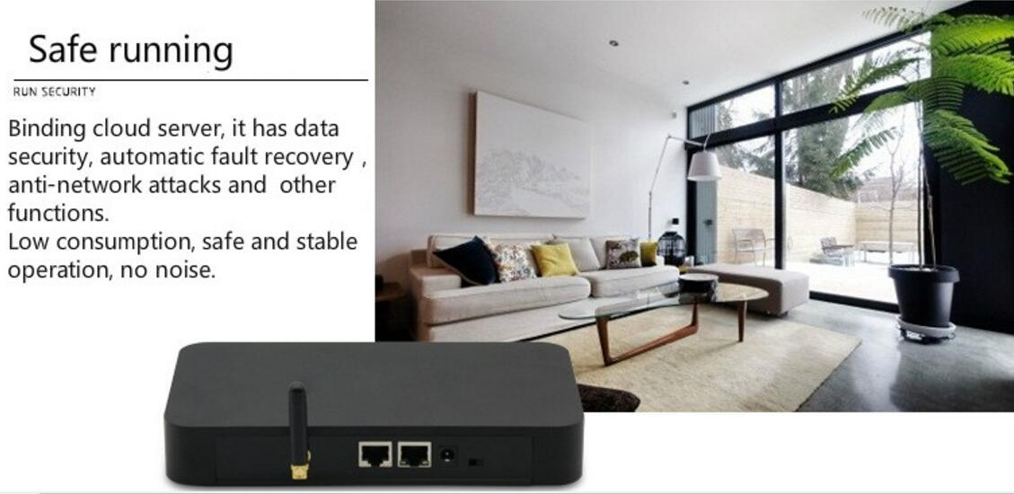 Zigbee Remote Control Smart Home Automation Solution Security Systems Gateway