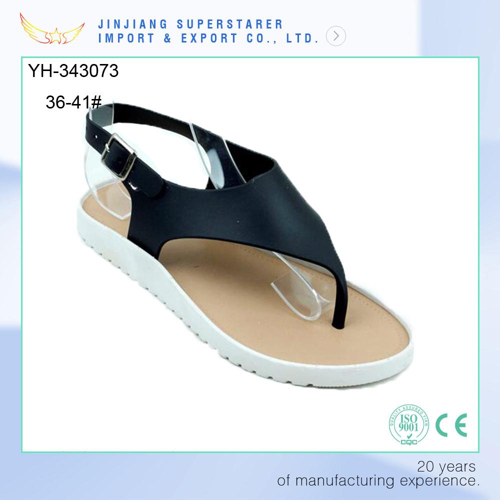 Superstarer Clip Toe PVC Upper Strap Ladies Teen Girls Flat Sandle