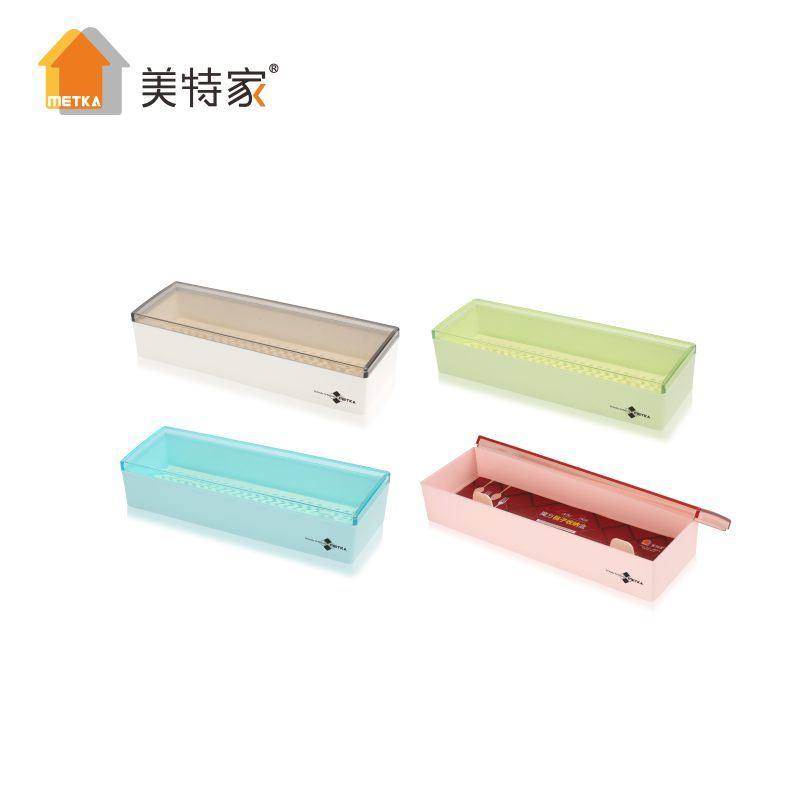 6503 Metka Kitchen Supplies Small Plastic Chopstick Box 7""