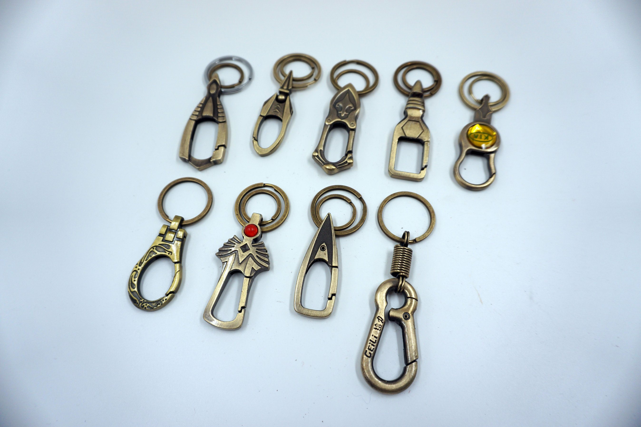 Wholesale Metal Lol Cavalier Beautiful Key Chain, Sword Shape Chain Key