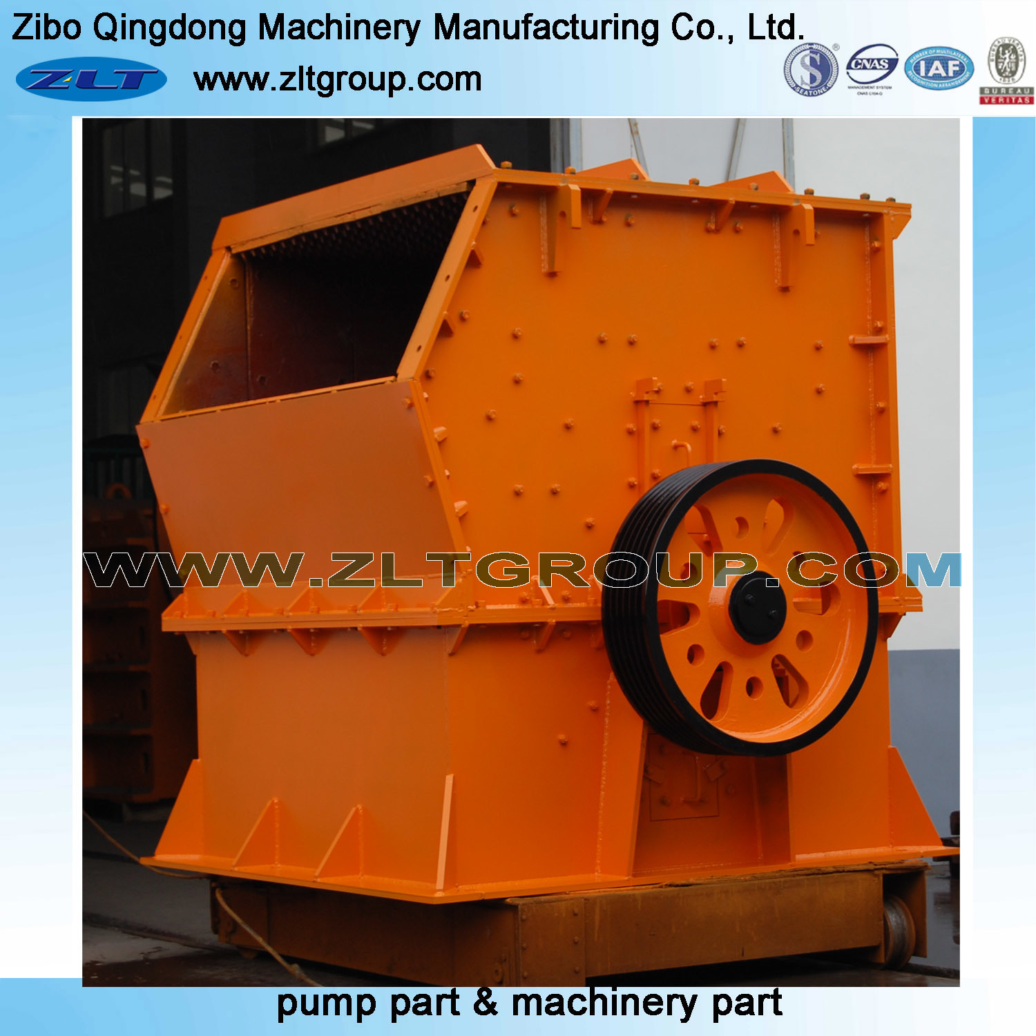 Mining Machinery Crusher for Manufacturing Processing