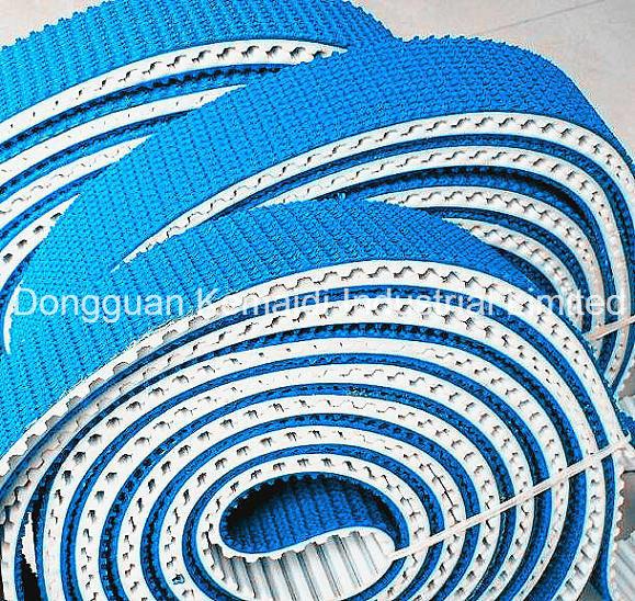 PU Timing Belt Coating PVC or Rubber Corrugated Sheet