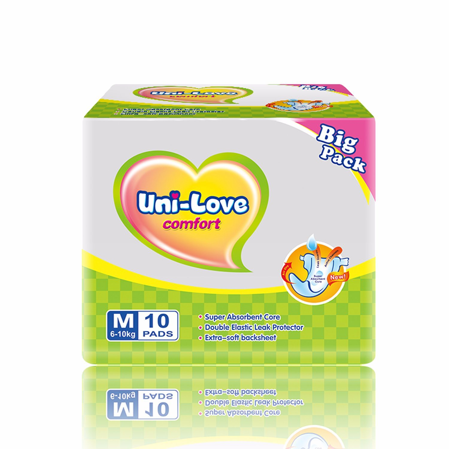 OEM Cheap Soft PE Back Sheet Baby Diapers