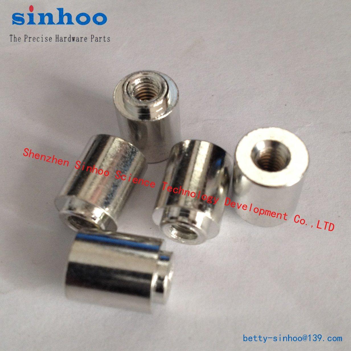 Smtso-M2.5-8et, SMD Nut, Weld Nut, Reelfast/Surface Mount Fasteners/SMT Standoff/SMT Nut, Steel Bulk