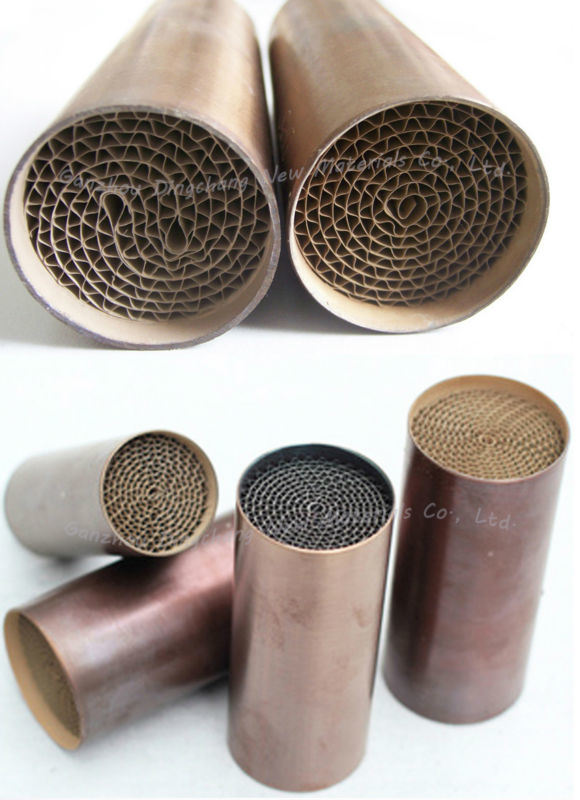 Universal Catalytic Converter with Precious Metal Honeycomb Substrate