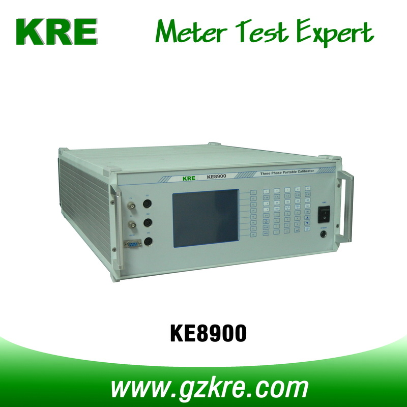 Class 0.1 450V 120A Portable Three Phase Meter Test System