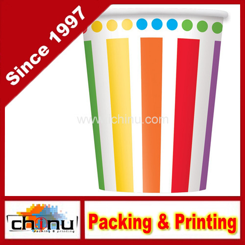 Custom Printed Rainbow Party Paper Cups (130070)