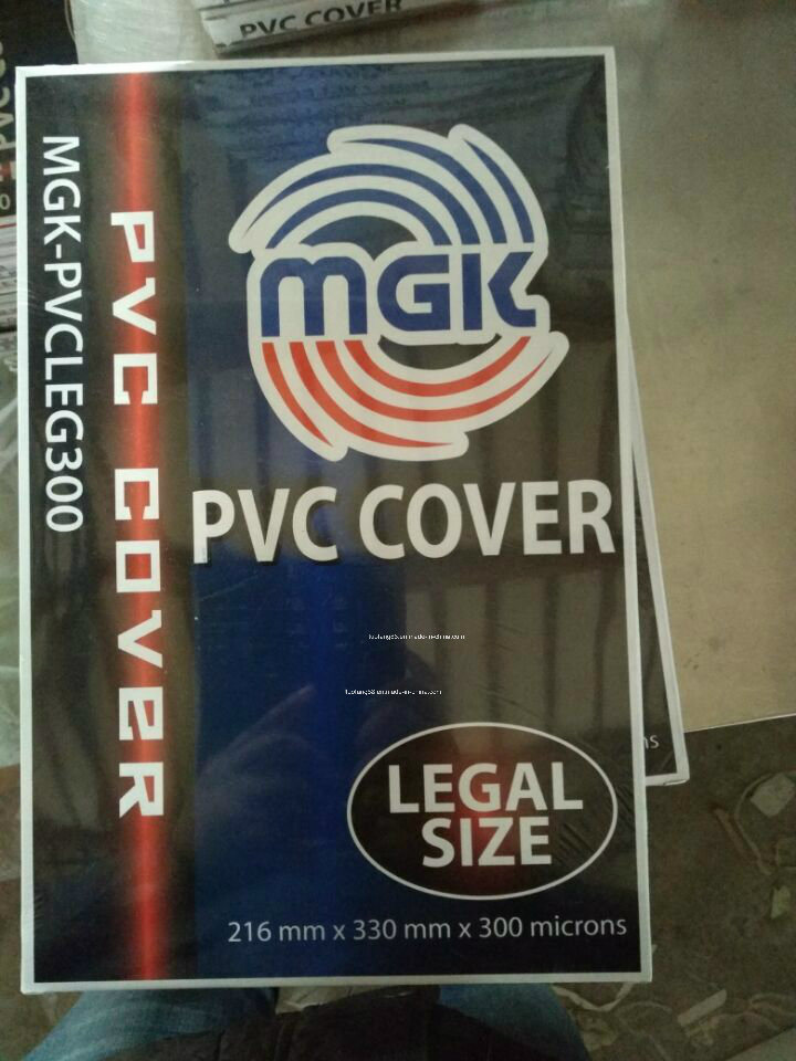 Colorful Hard PVC Book Cover