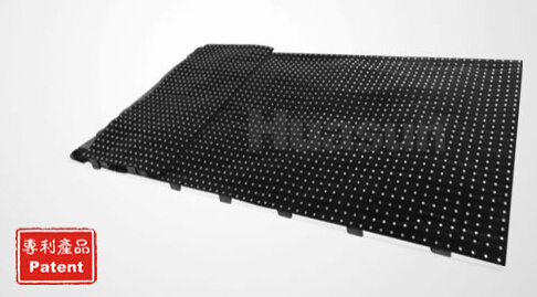 FLC400 P50mm Large Size Soft LED Star Curtain
