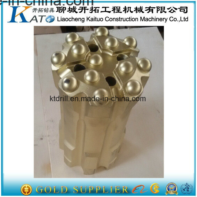 Drop Center Rock Drilling Tools T38-64mm Spherical Short Retrac Button Bits