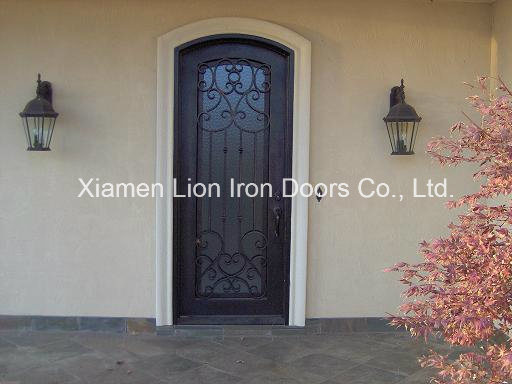 Super Quality Custom Single Iron Door modern Window Design