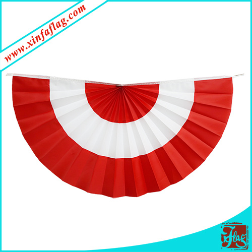 Fan-Shapped Bunting, Fan-Shapped Banner, Decorative Banner