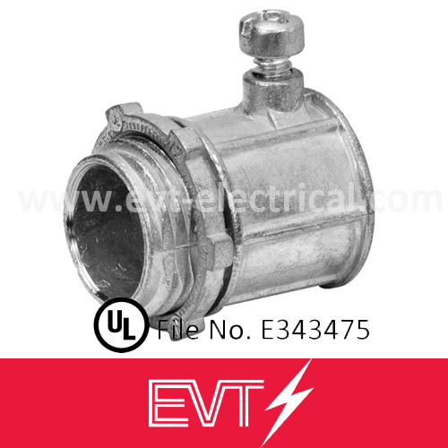 UL Listed Zinc Set Screw EMT Conduit Coupling