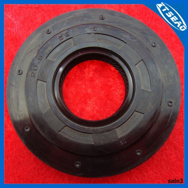 NBR/FKM/Acm Rubber Car Oil Seal 20.8*52*6