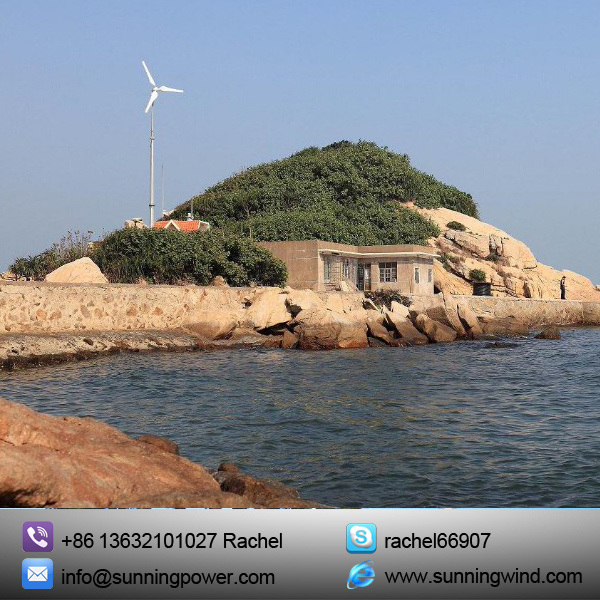 5000W Wind Mill Can Supply Power The Family Far Away The Government Grid and City