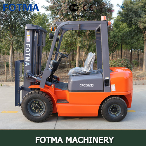 China Fotma Hangcha Gas/Diesel/Electric/LPG Forklift Truck