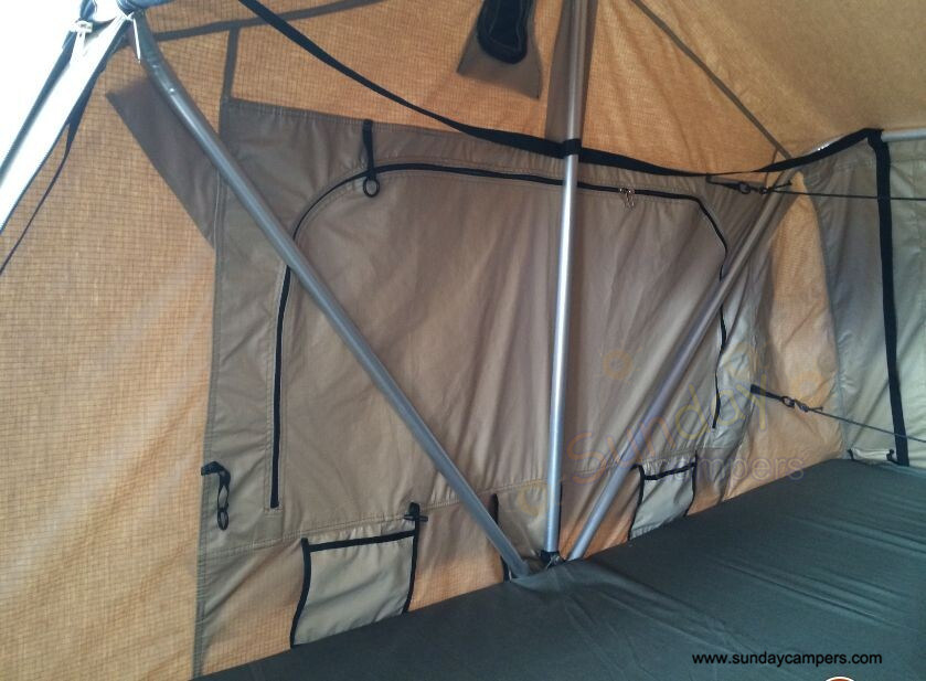 off Road Roof Top Tent Trailer with Annex Room