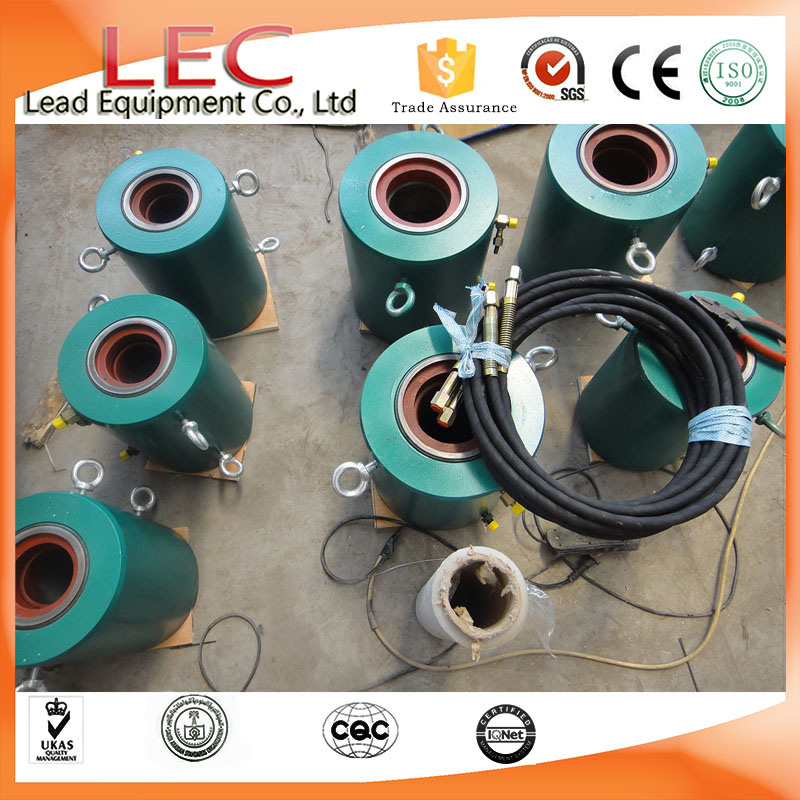 Tension Hydraulic Cylinder for Prestressing Anchorage