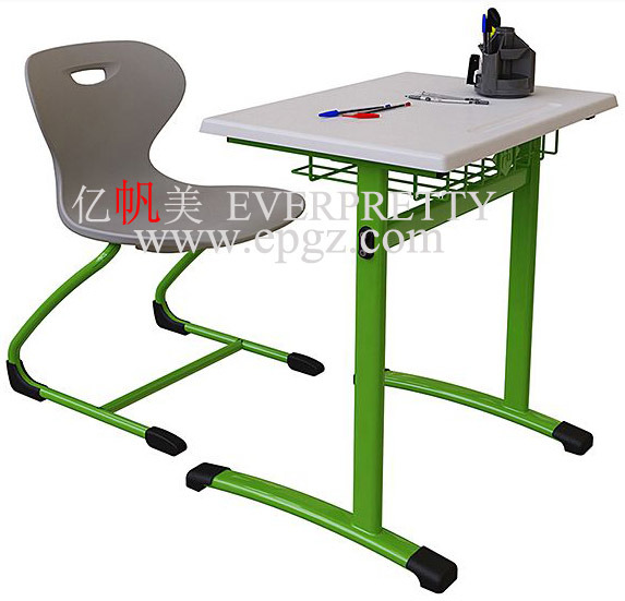 Free Sample for School Desk Furniture Set in 2015