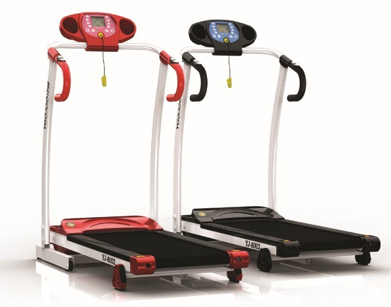 China Newest Design Home Treadmill With Color Screen Can