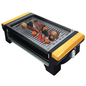 1400W Portable Electric BBQ Grill with CE and CB (WSH-EB03)