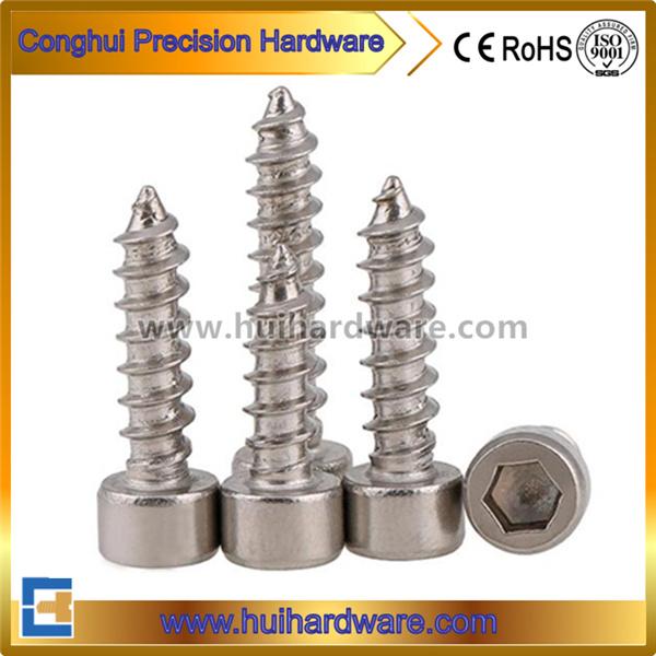 Stainless Steel Hex Socket Cap Head Self Tapping Screws