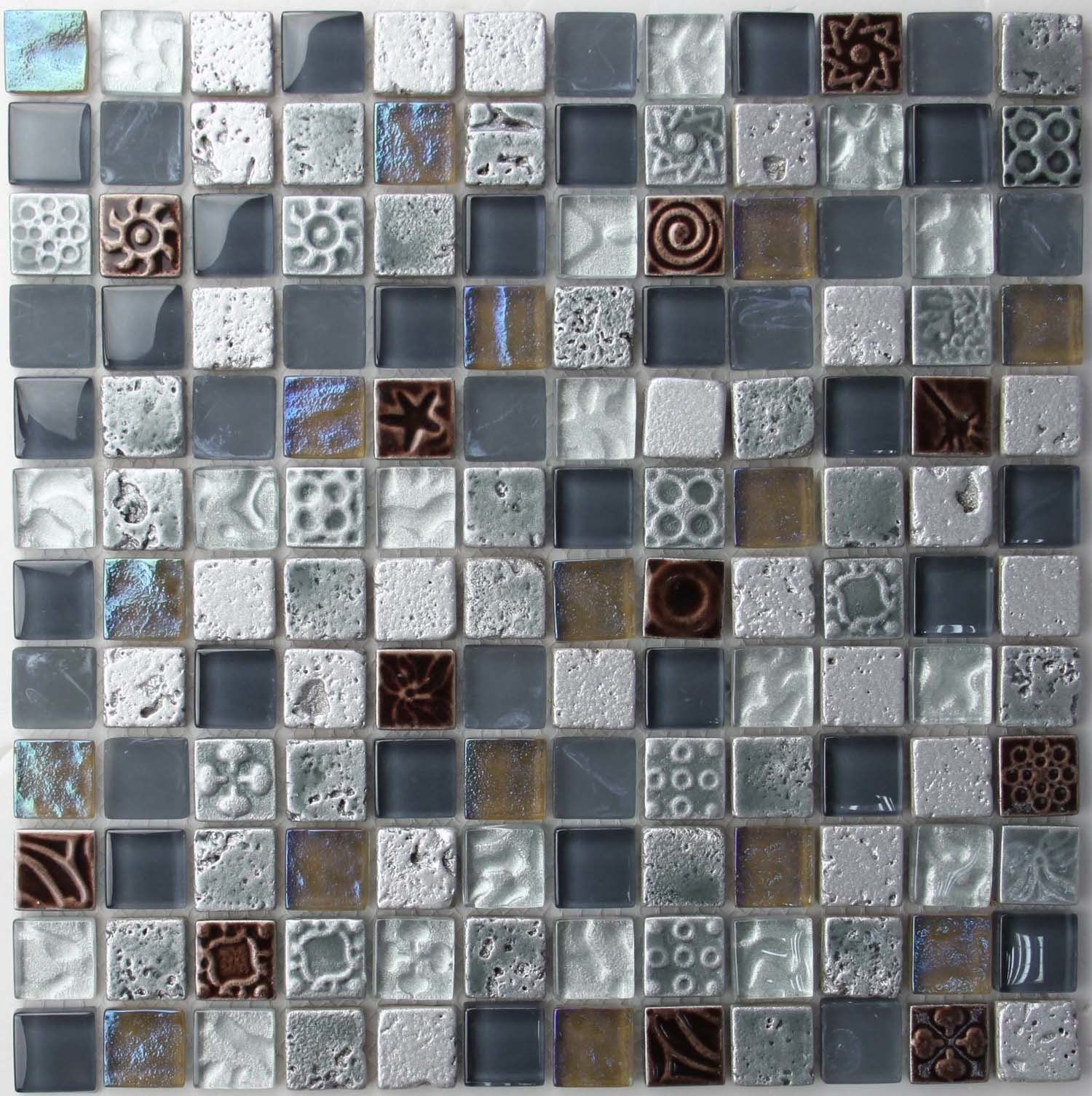 China texture glass mosaic tiles gh0008 china glass for Glass tile texture
