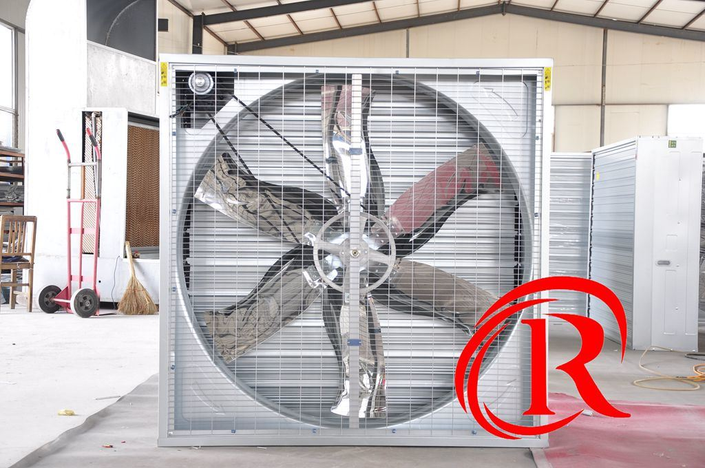6-Blades Centrifugal Exhaust Ventilation Fan for Greenhouse