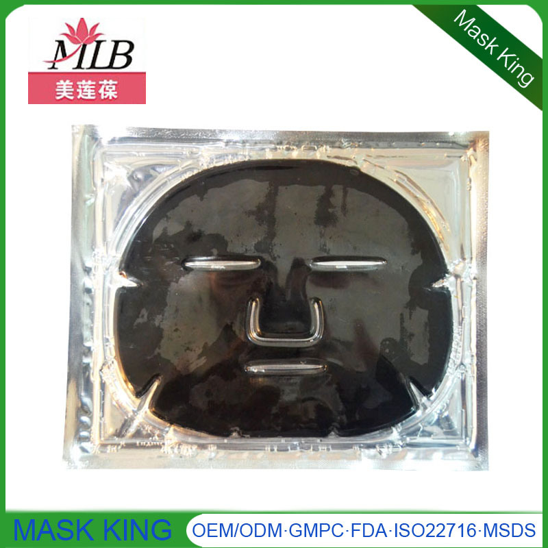 Cosmetic Anti Aging Clean/Tender Black Mud Face Care Crystal Collagen Facial Mask