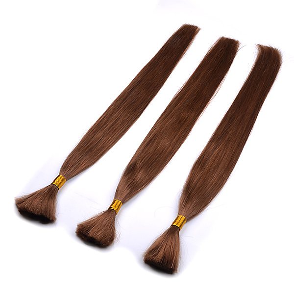 Peruvian Human Braiding Hair Bulk Hair Extensions No Weft for Braiding 3 Bundles No Weft No Attachment Straight Bulk Hair