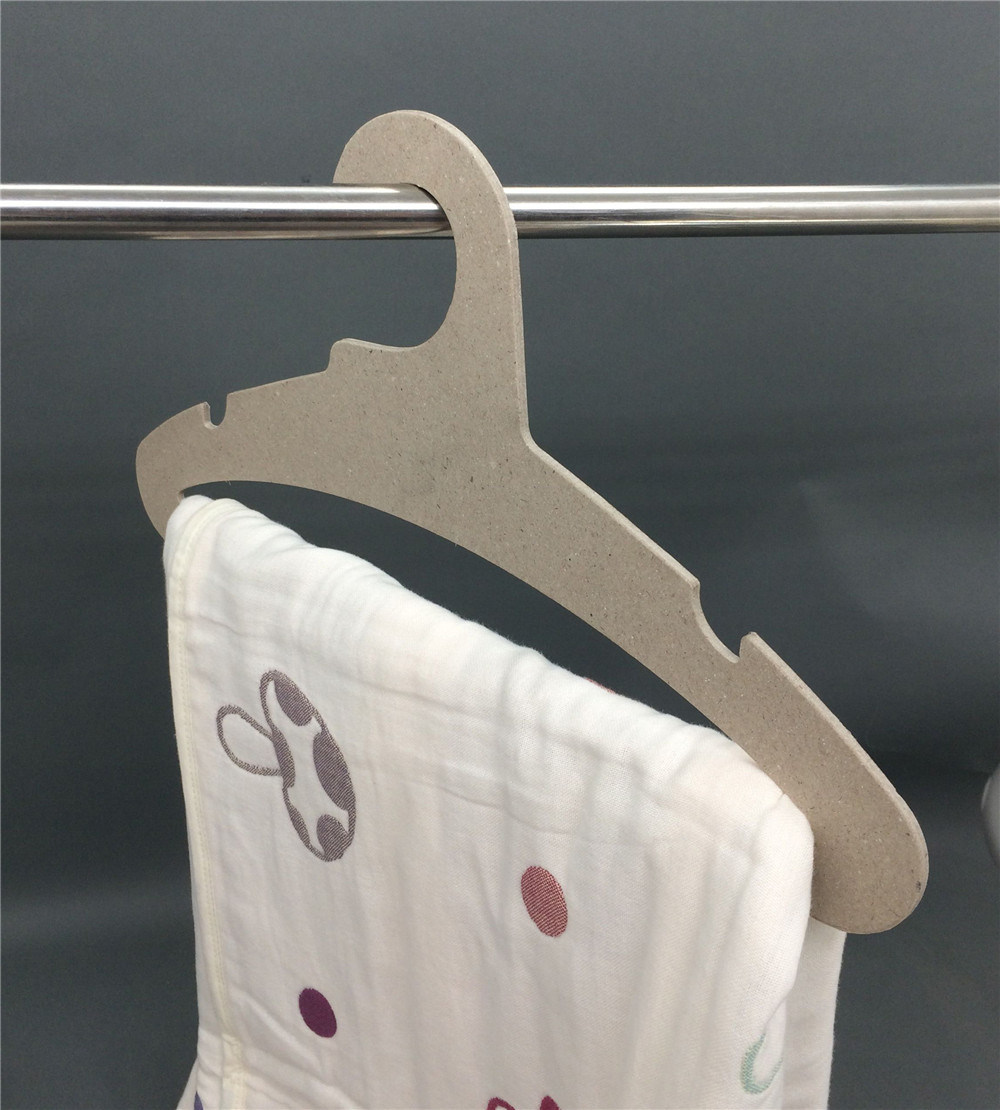High Load Bearing Fsc Recyclable Paper Cardboard Coat Hanger