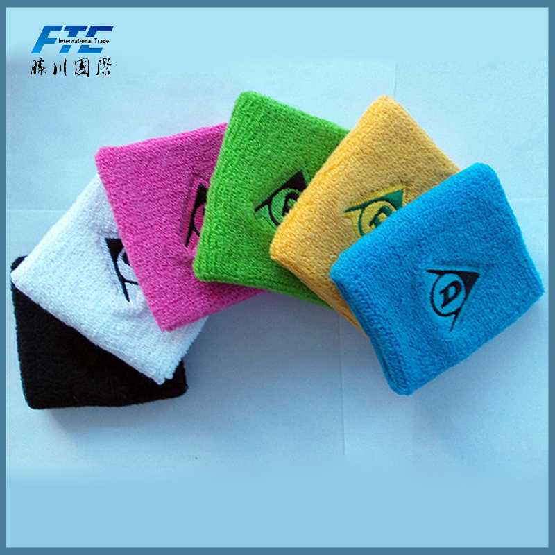 Promotional Design Colorful Sport Wristband