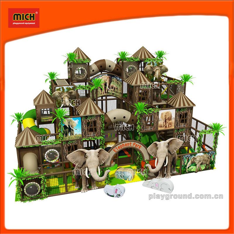 Mich New Design Children Amusement Soft Indoor Playground