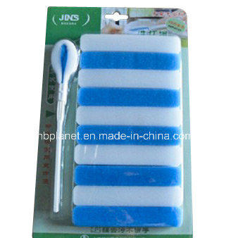 10 in 1 Strip Melamine Sponge Brush Pack