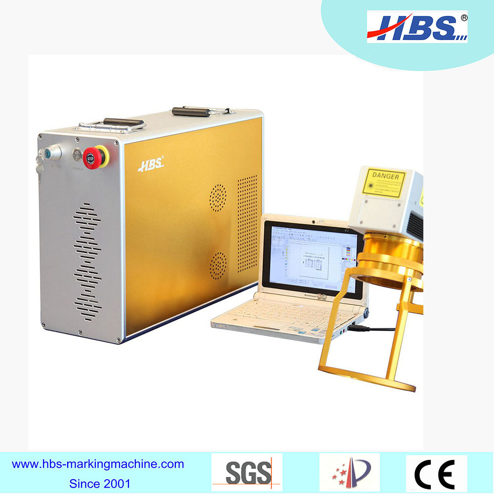 Hand Hold Fiber Laser Marking Machine for Metal, Piping, Cans
