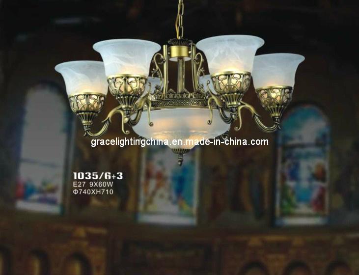 Lighting Factory Decoration Pendant Lamp Glass Chandelier