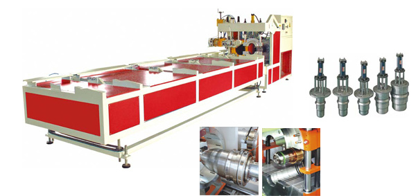 Sgk Series Plastic Pipe Full Automaticity Belling Machine