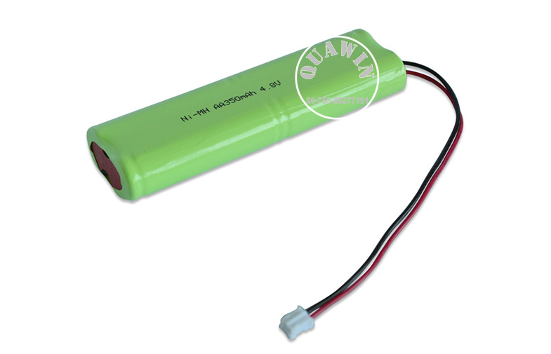 Ni-MH Rechargeable Battery Pack AA 4.8V 350mAh NiMH Battery