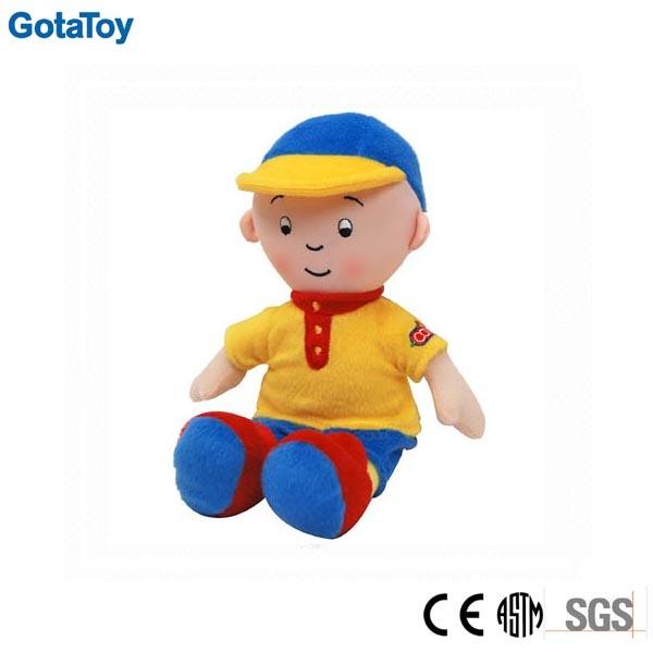 Custom Plush Boy Doll with Shirt and Pants